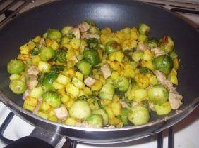 Recept voor spruitjes uit de wok. Heel eenvoudig.