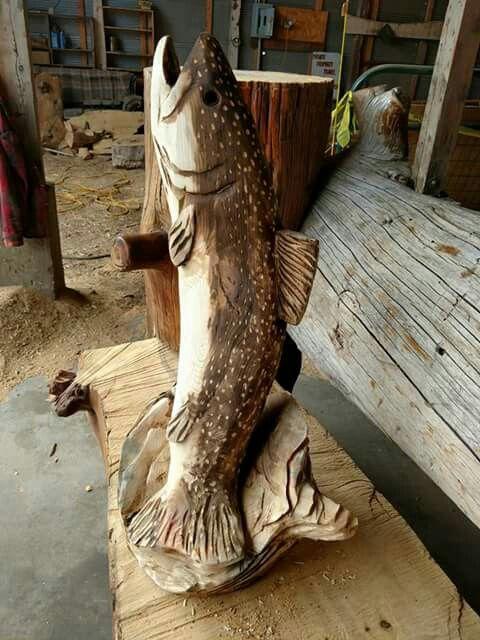 Best fish Деревянные рыбы images on pinterest