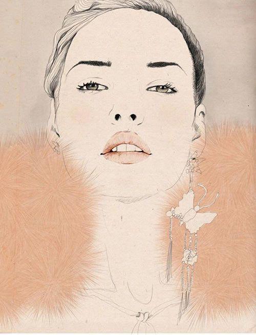 kelly thompson illustrations | Kelly Thompson's fashion illustrations | Fashion Odor