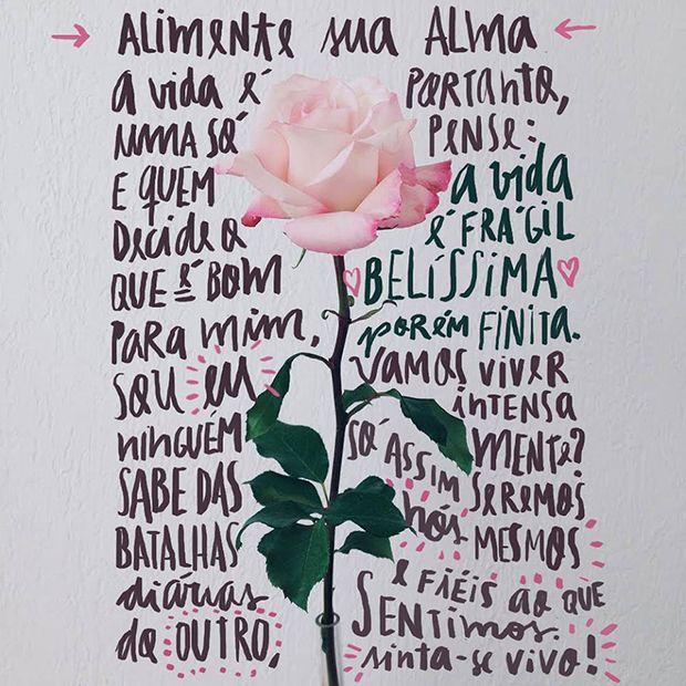 Handlettering e ilustrações por Vanessa Kinoshita