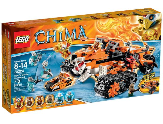 LEGO Chima Tiger's Mobile Command 70224 Box