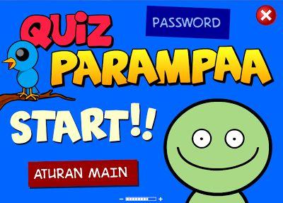 """Pada postingan kali ini saya akan berbagi game """"Quiz Parampaa"""". Saya yakin kalian pasti udah tau game yang satu ini. Kelihatan dari gambarnya sih kalian pasti nyangka kalo game ini buat anak-anak.. haha. Tapi salah friends, http://rizalzalle.blogspot.com/2013/10/download-game-quiz-parampaa.html Download Game Quiz Parampaa 1"""