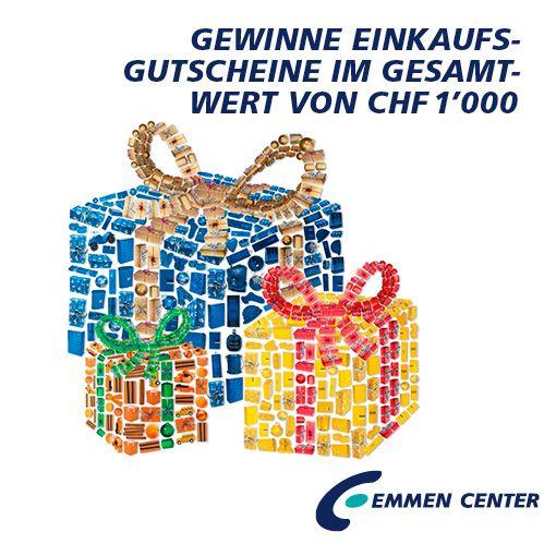 Jetzt mitmachen und gewinnen unter www.emmencenter.ch/gewinnspiel