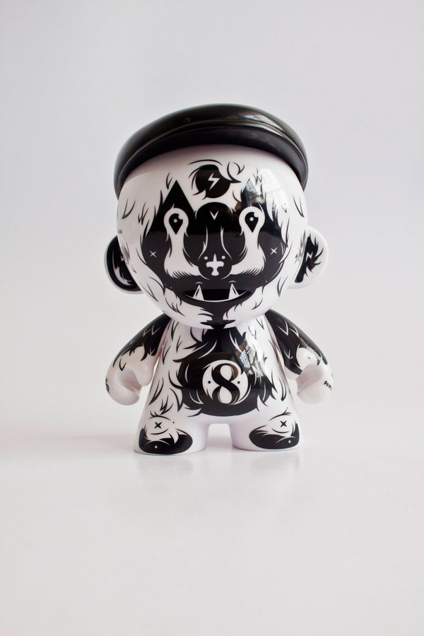 Daniel Ting Chong: Kidrobot Custom Munny