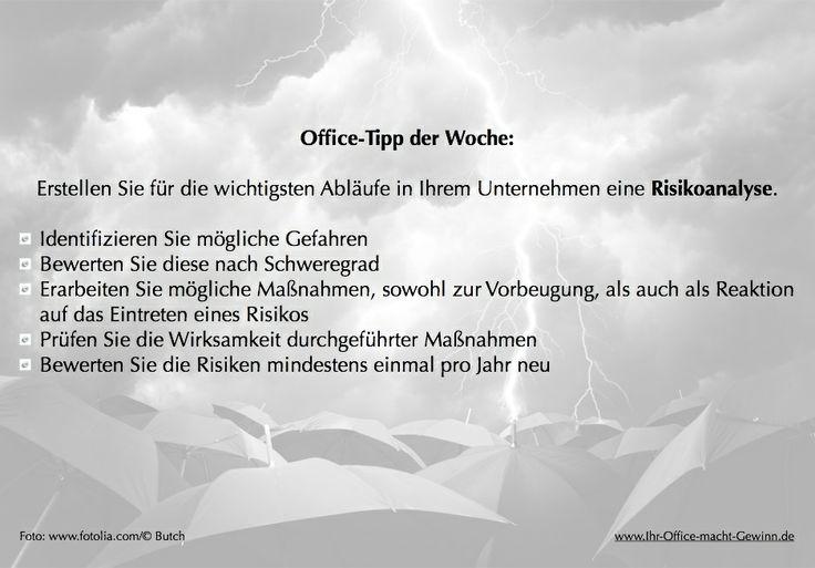#Risikoanalyse www.Ihr-Office-macht-Gewinn.de