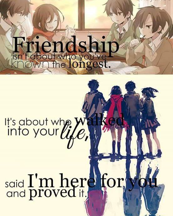 Friendship [Kasumi]admin60 Animequotes Anime Animes Inspiration Anime Quotes About Friendship