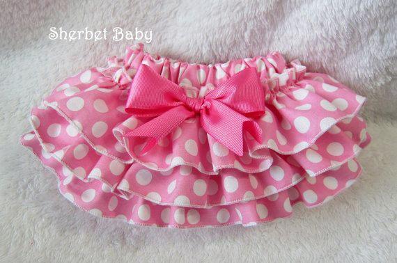 Pink+Polka+Dot+Sassy+Pants+Ruffle+Diaper+Cover+Ta+by+SherbetBaby,+$32.00
