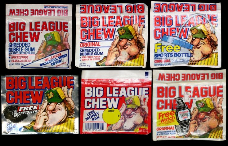 When it's game time, it's go time.  Big League Chew, y'all.