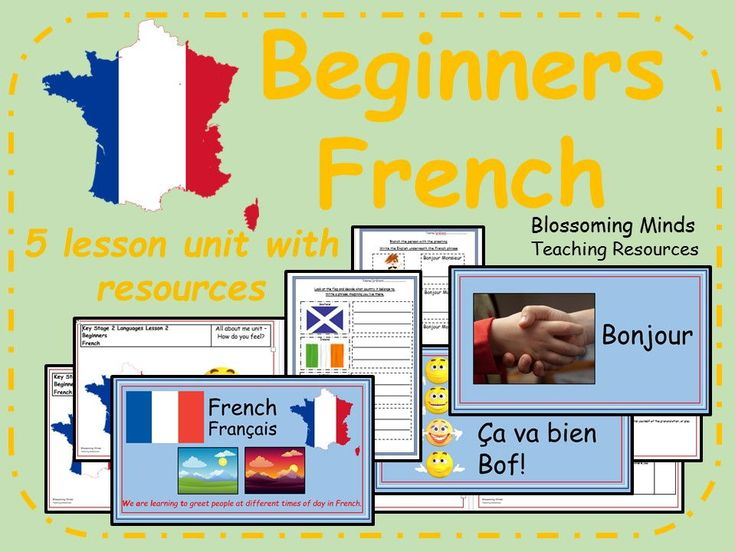 Beginners French - Greetings and introductions