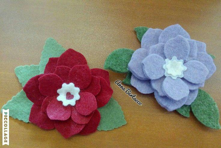 I miei fiori,da una fustella Bigz