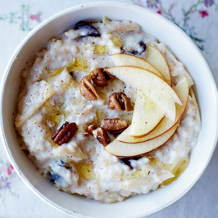 Packed with fruit and nuts, TV presenter Jayne Middlemiss' spiced porridge recipe takes breakfast to a whole other dimension.