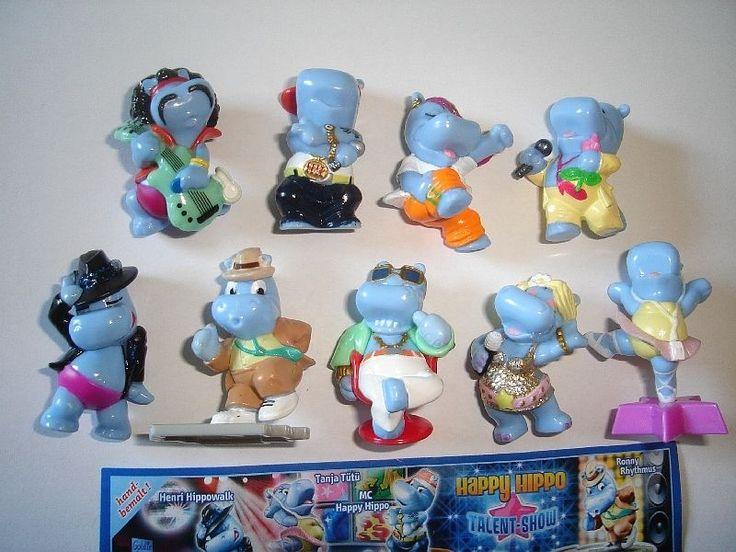 Kinder Surprise Set Happy Hippos Talent Show 2009 Figures Collectibles   eBay
