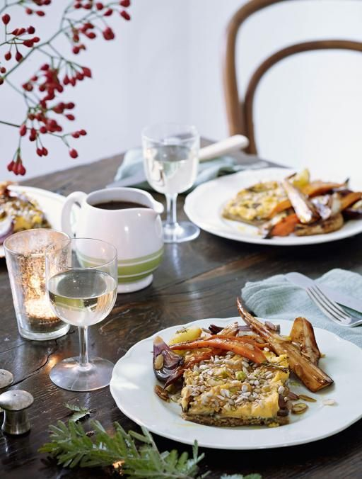 Vegetarian Nut Roast | Vegetable Recipes | Jamie OliverThis recipe well and truly cracks the nut roast. So rammed with flavour that even those turkey lovers will be tucking in at Christmas