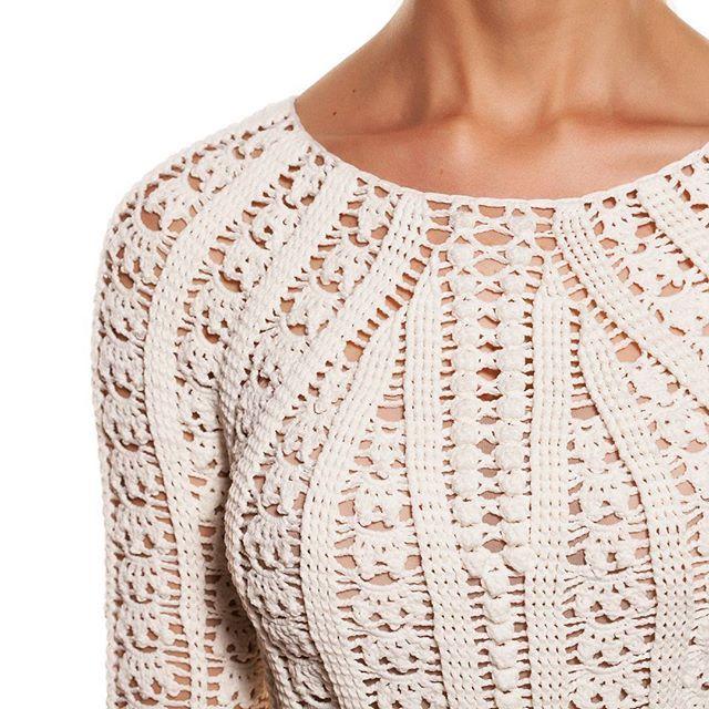 Seamless crochet dress ⚡ Coolest extravaganza.