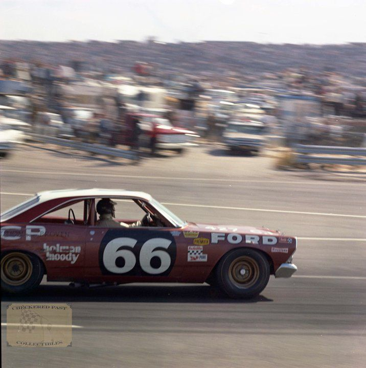 F1 World Champ Jim Clark in his only NASCAR appearance at Riverside in '67