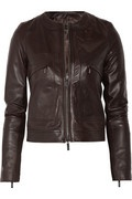 Calvin Klein Collection Adna leather jacket.