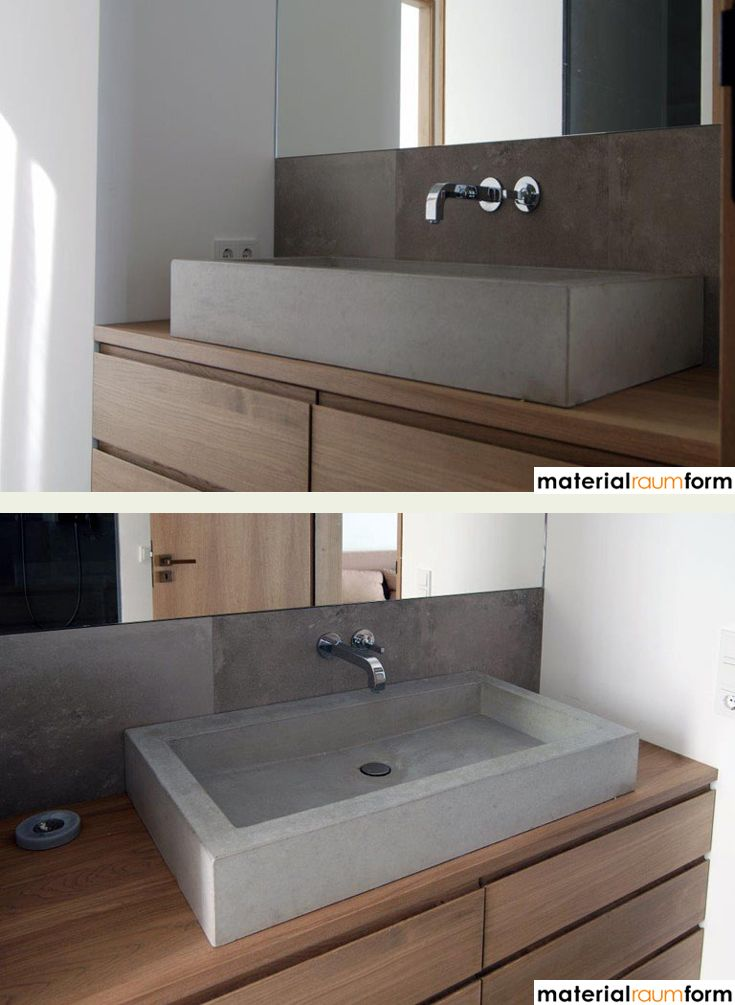 25+ Best Ideas About Waschbeckenunterschrank Holz On Pinterest ... Bad Design Holz