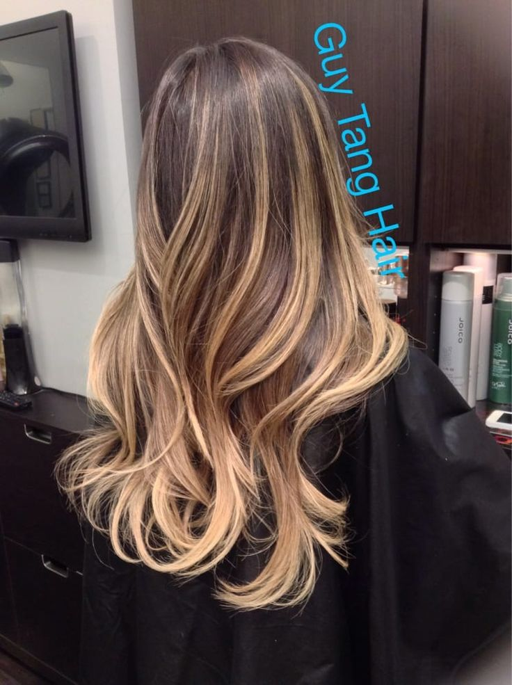 Photo of Guy Tang - West Hollywood, CA, United States. Dimensional ombré by Guy Tang