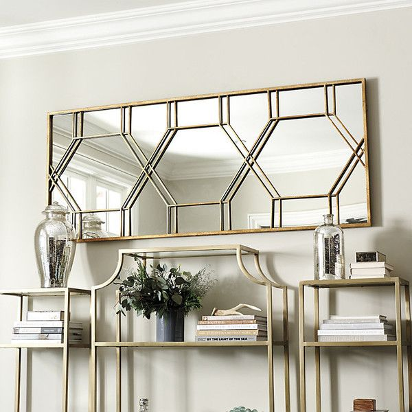 Ballard Designs Layla Mirror 1755 MYR liked on Polyvore