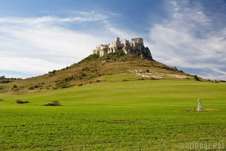 Spiš Castle    Rising majestically on the top of the hill for 800 years, Spiš Castle is the largest medieval stone castle in Central Europe. From the distance you can admire a giant horse geoglyph located under the castle, one of the largest of its kind in the world.    Photo: Peter Marko