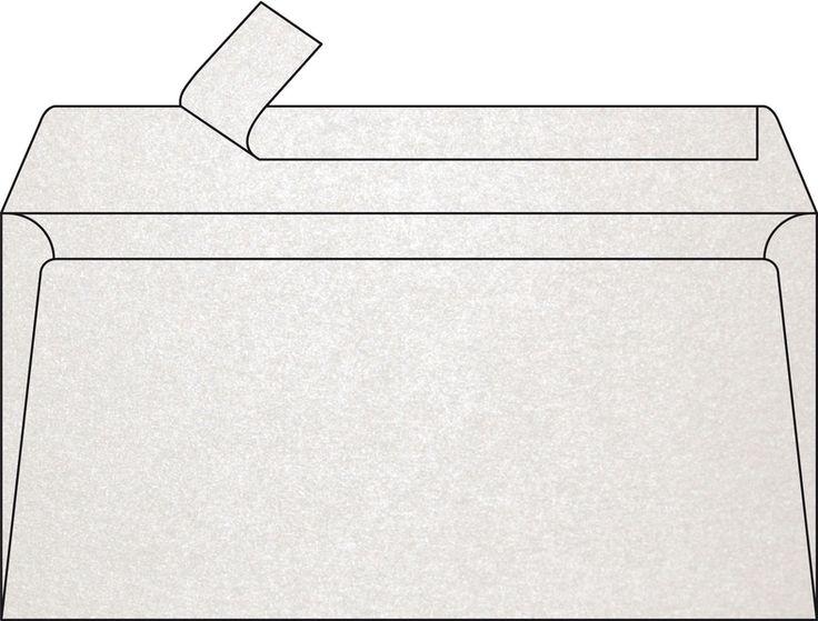 Enveloppe Blanc Irisé DL Pollen Clairefontaine 120 gr 5 unités #enveloppeblancirise #enveloppecouleur #enveloppepollen #enveloppefairepart