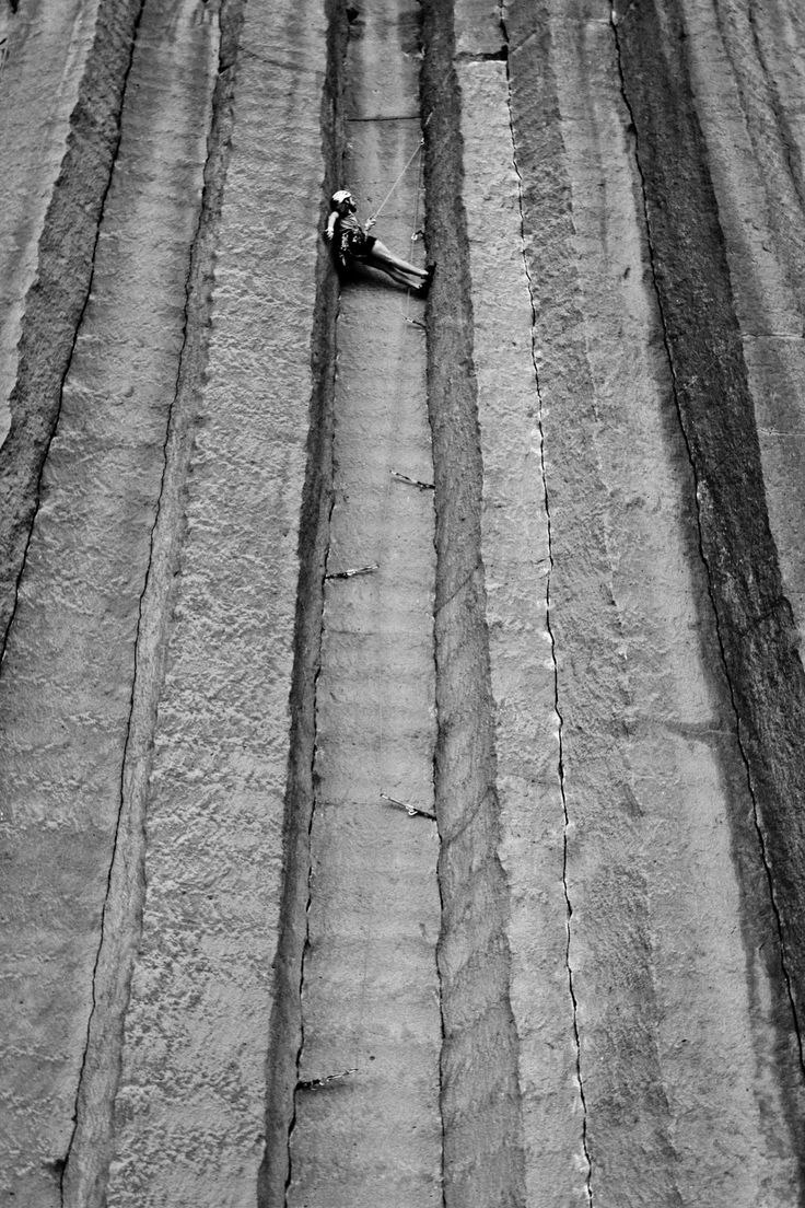 Sean Sullivan hangs out in The Space Between, Trout Creek, OR #climbing