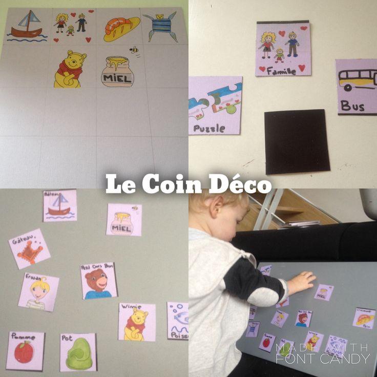 Un tableau magn tique ludique pour son enfant dessinez for Fabriquer tableau magnetique