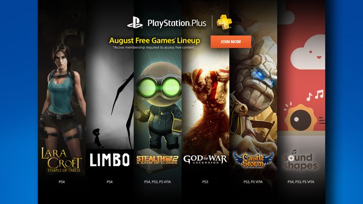 PlayStation Plus Free Games For August 2017 On PS4/PS3/Vita Revealed
