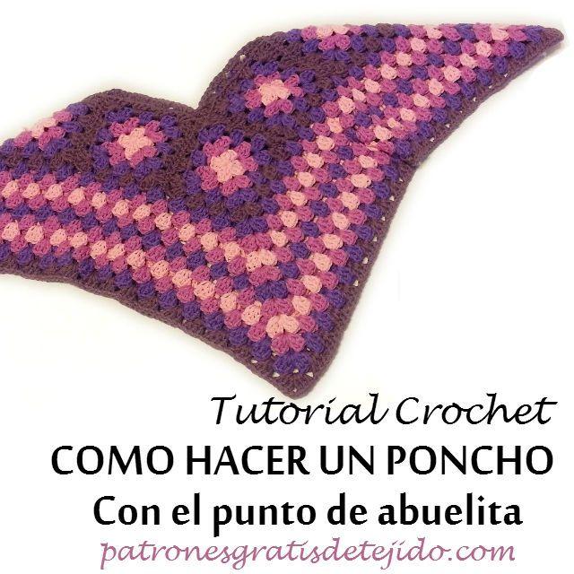 Mejores 1050 imágenes de Crochet en Pinterest | Patrones de ...