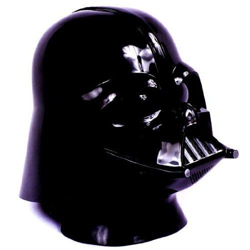 Darth Vader Mask . $37.88. Features 2 piece all plastic Darth Vader mask and helmet.. This mask fits most adults.. This Darth Vader Mask is a smaller version of the collector's model.. Standard version of Darth Vader Mask. This Darth Vader Mask is a smaller version of the collector's model. 2 piece all plastic Darth Vader mask and helmet. This is the same Don Post mask and helmet sold when the first Star Wars movie was released in the Mid- Seventies.. Save 13% Off!