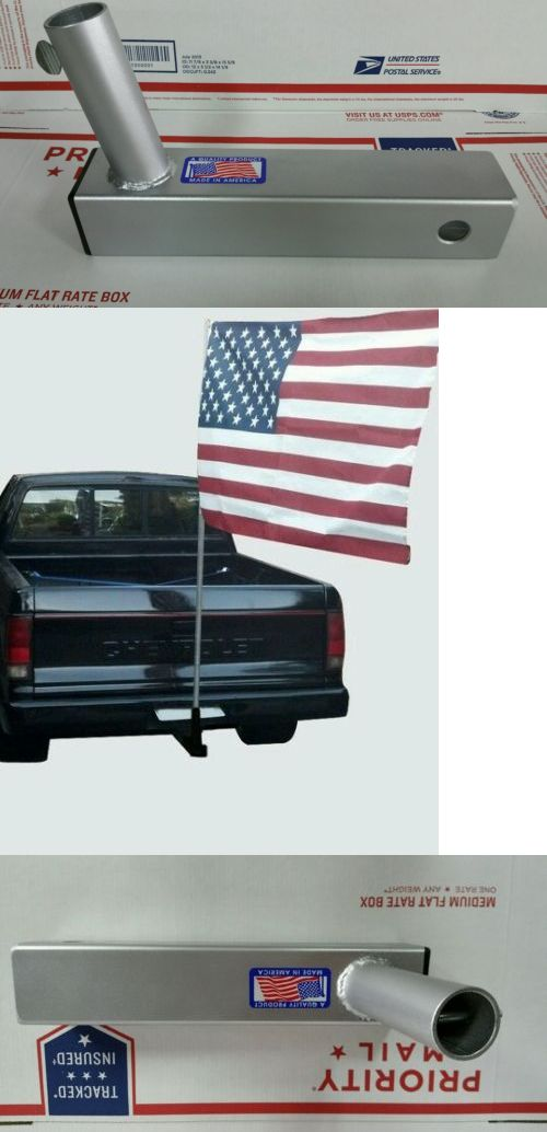 Flag Poles and Parts 43536: Trailer Hitch Mini Mount Car ,Truck, Suv Flag Pole Holder -> BUY IT NOW ONLY: $46.99 on eBay!