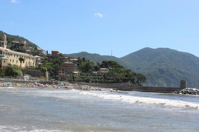 Beach in Recco