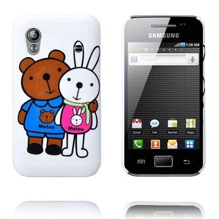 Glad Tegnefilm (Bunny og Bjørn) Samsung Galaxy Ace Cover