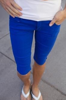Colored Bermuda Shorts!!!! I need to go shopping.