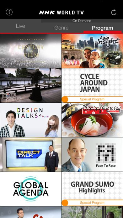 NHK World TV - video news and TV shows highlighting Japanese culture. It's almost like the Japanese version of PBS... but is also geared toward English-speaking people.