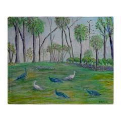Peacocks in Old Florida Throw Blanket> Peacocks in Old Florida> PATTY WEEKS OLD FLORIDA ITEMS FOR SALE