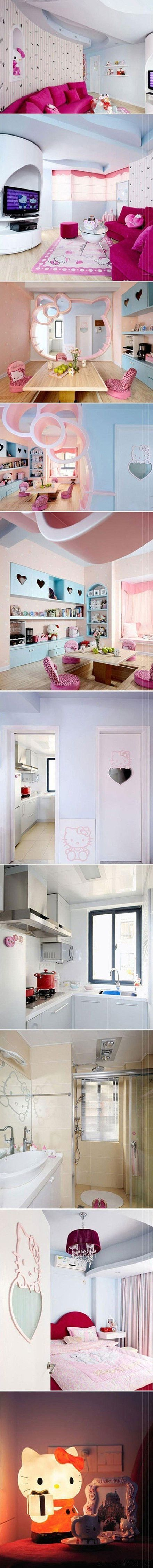Hello kitty bedroom ireland - How Fun Would A Hello Kitty Themed House Be