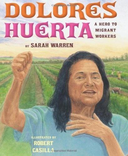Dolores Huerta: A Hero to Migrant Workers by Sarah E. Warren, http://www.amazon.com/dp/0761461078/ref=cm_sw_r_pi_dp_SMKEqb1YM9ZJ5
