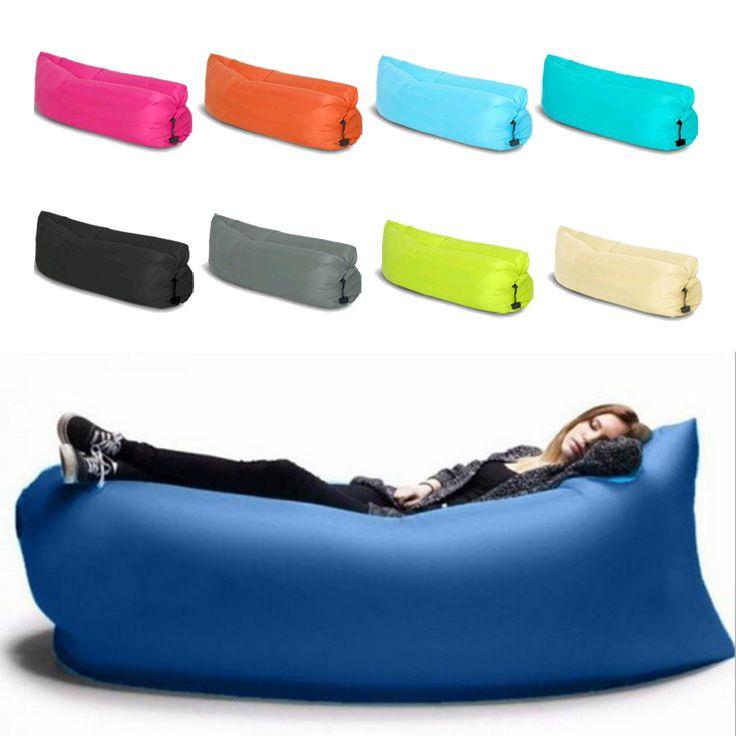 Schnelle aufblasbaren sofa 100 wasserdichte schlafsack for Billige einzelbetten