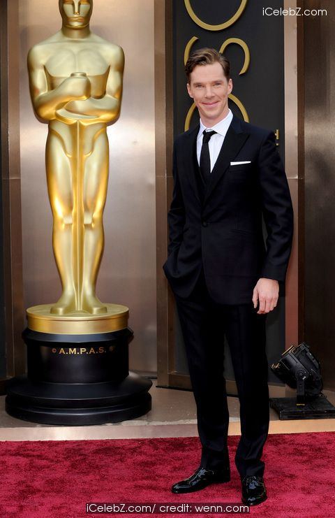 Benedict Cumberbatch   The 86th Annual #Oscars held at Dolby Theatre http://www.icelebz.com/events/the_86th_annual_oscars_held_at_dolby_theatre/photo43.html