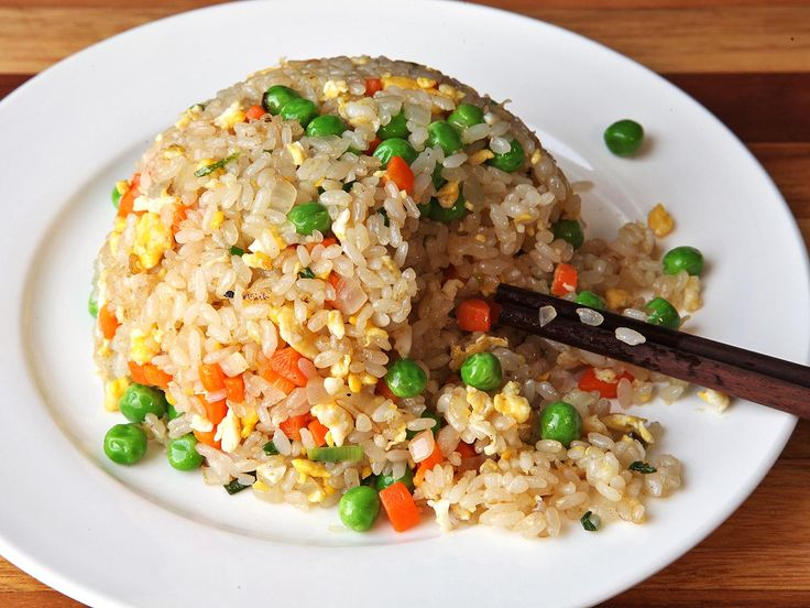 Perfect fried rice is all about texture. I was looking for rice that has distinct grains, each with a slightly chewy fried exterior and a tender bite. I wanted grains that were separate enough from each other that you can taste and appreciate their texture, but still sticky enough that you can pick up small clumps with a pair of chopsticks or a spoon.