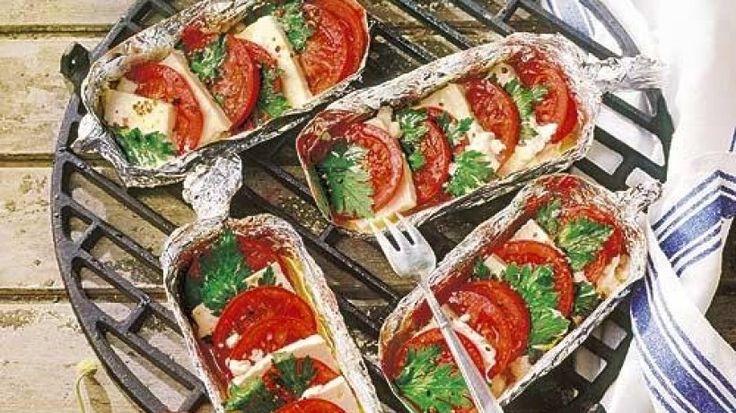 Feta-Tomaten-Pfännchen