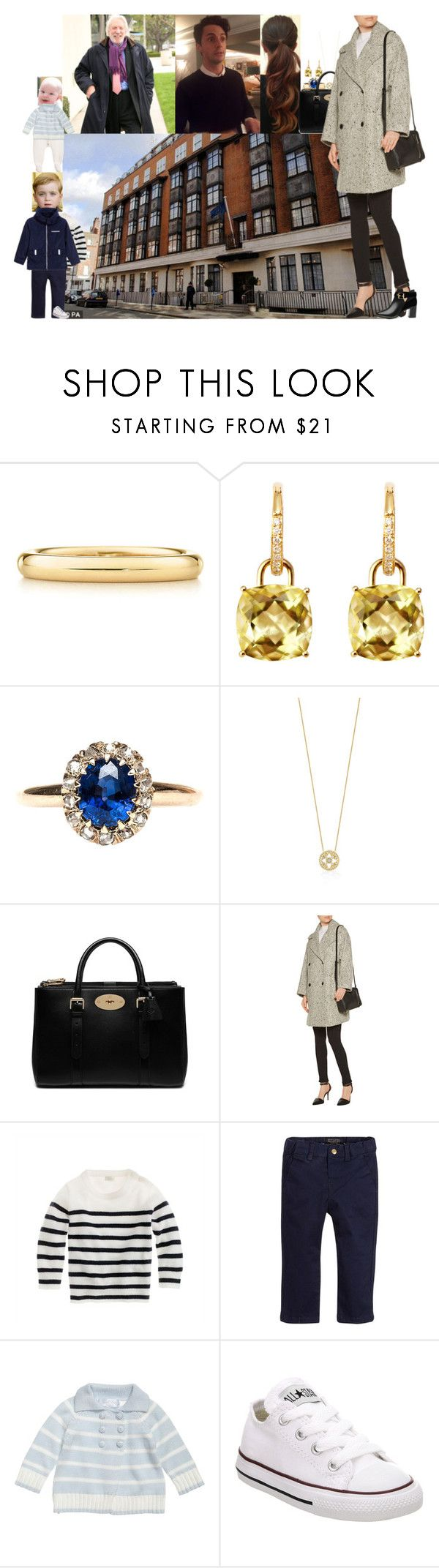 Taking the kids to visit Richard before he is released from the hospital by lady-maud on Polyvore featuring Vince, Ted Baker, Mulberry, Kiki mcdonough, Elsa Peretti, J.Crew, Converse and Tartine et Chocolat