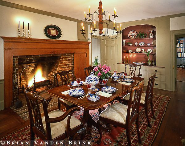 515 best colonial dining rooms images on pinterest | primitive