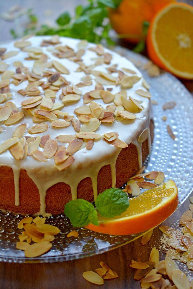 Appelsiinikakku.   Orange cake.
