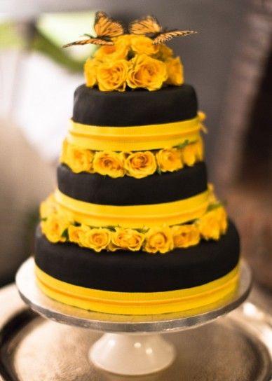 Torte nuziali gialle