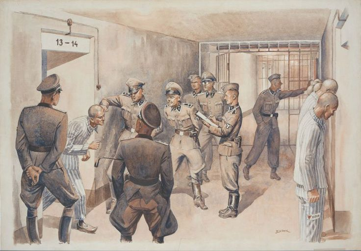 an analysis of the black wall execution site in the auschwitz concentration camp Men record their experiences of the holocaust   concentration camp  to vienna or to inside the third reich are actually going to a horrible camp in auschwitz.