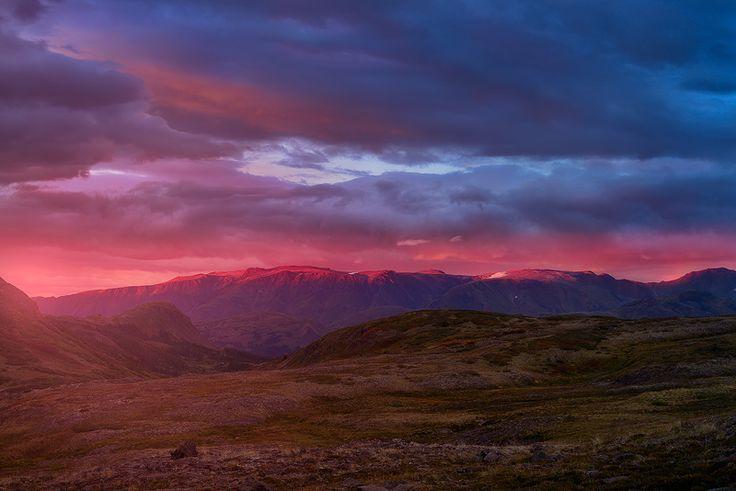 Fires of Spatsizi Plateau, Mt Edziza Provincial Park, BC by Adam Gibbs