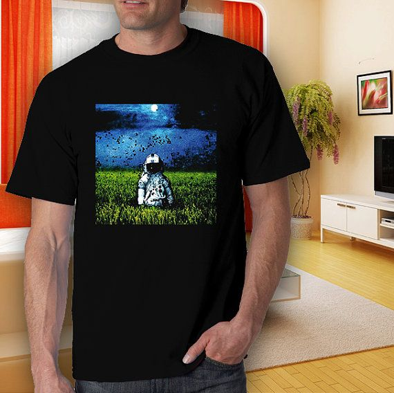 brand new deja entendu at the grass adult black tshirt by goodwear, $14.99
