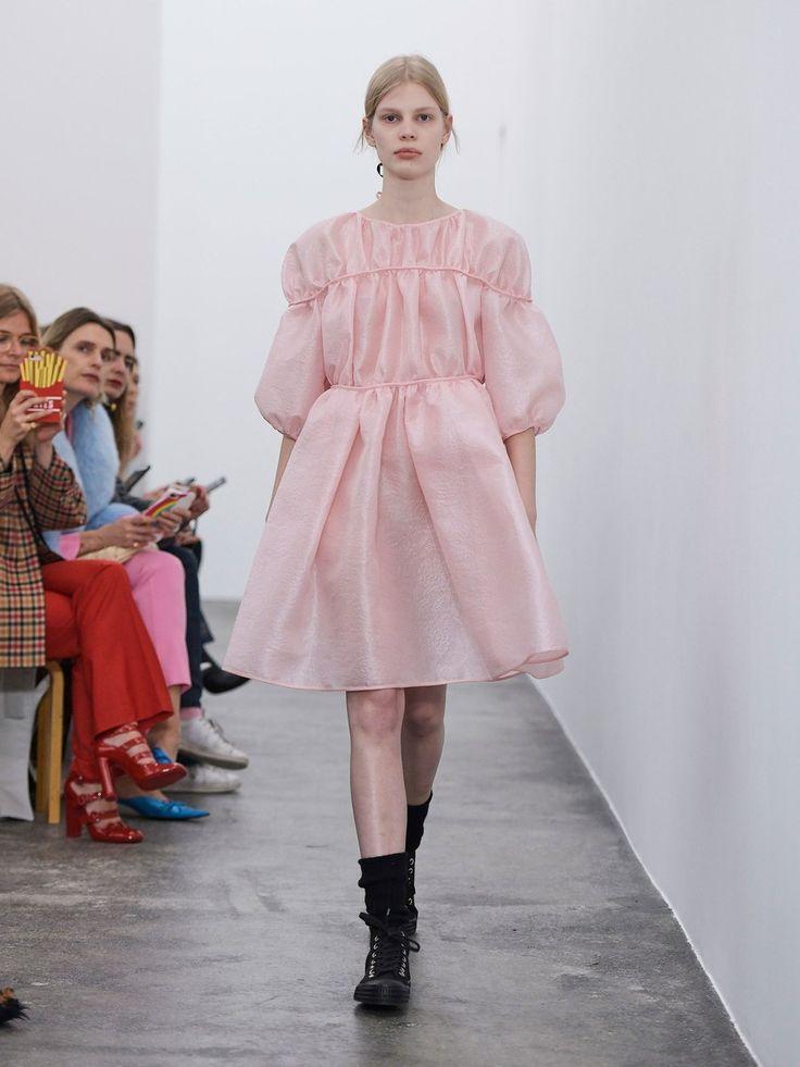 Why Are Runway Clothes So Weird: Cecilie Bahnsen Copenhagen Fall 2018 Fashion Show
